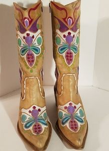 Aldo Colorful Cowboy/Western Boots EU 40/US 9.5/10